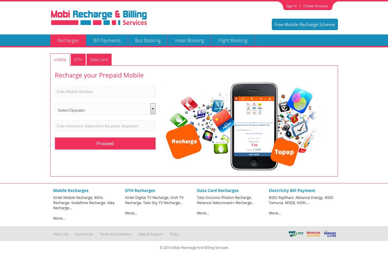 Mobile Recharge API Portfolio